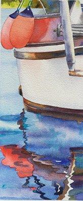 Boat hull reflections