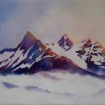 Mt. Stephens at Daybreak